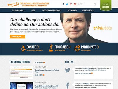 sito ufficiale michael j. fox