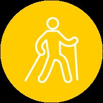 attività di nordic walking