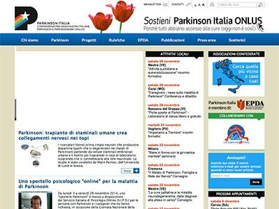 sito associazioni parkinson italia onlus
